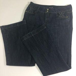 Cache Jeans Lattice Detail 10